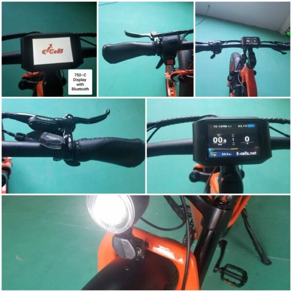 electric bike monitor
