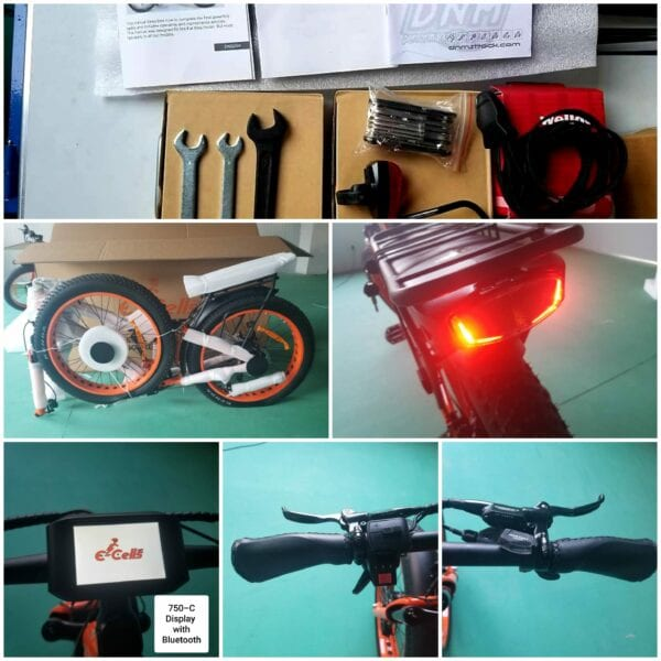 electric bike setup
