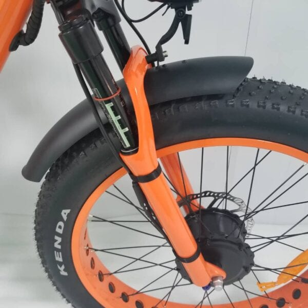 electric bike shocks