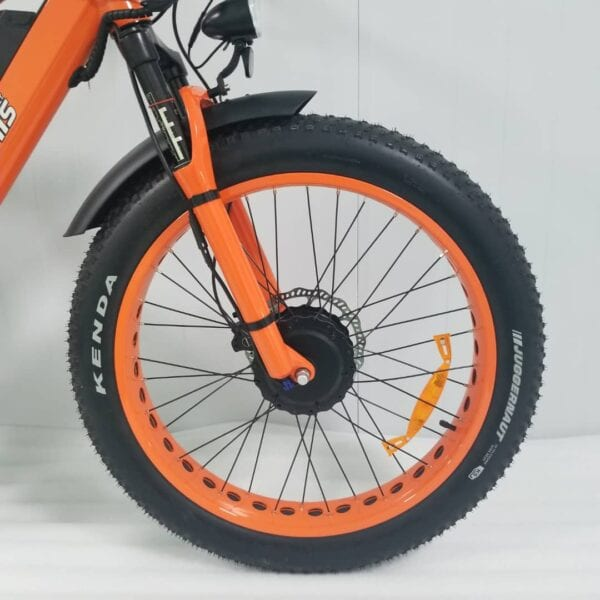 electric bike front wheel