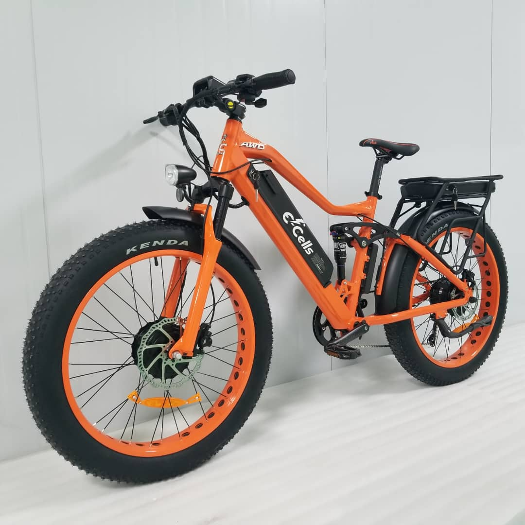 AWD 1000 Watt Super Monarch E-Bike from E-Cells