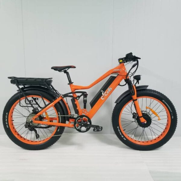 AWD Super Monarch 1000W e-bike from E-Cells