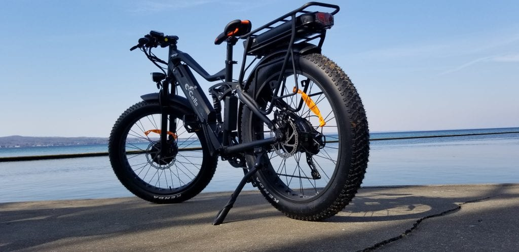 black super monarch ebike