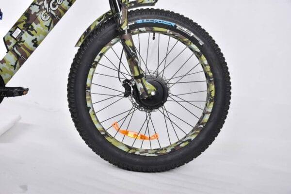 ecells ebike front wheel