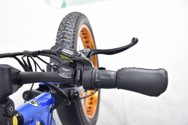 electric bike handlebars