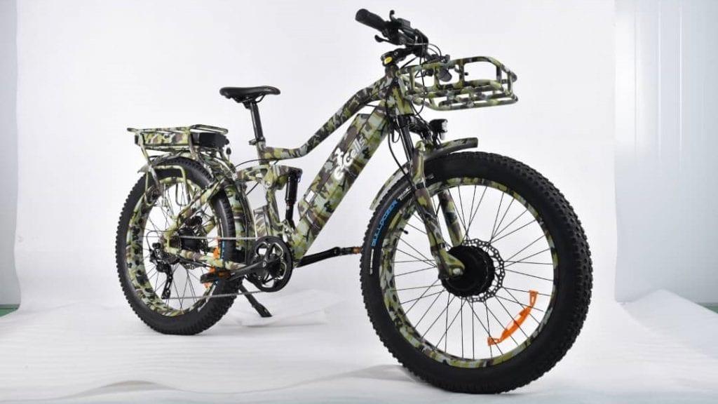 dual motor fat tire electric bike 1500W Super Monarch